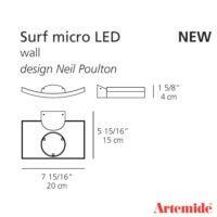 Microsurf_Artemide_dimensioni
