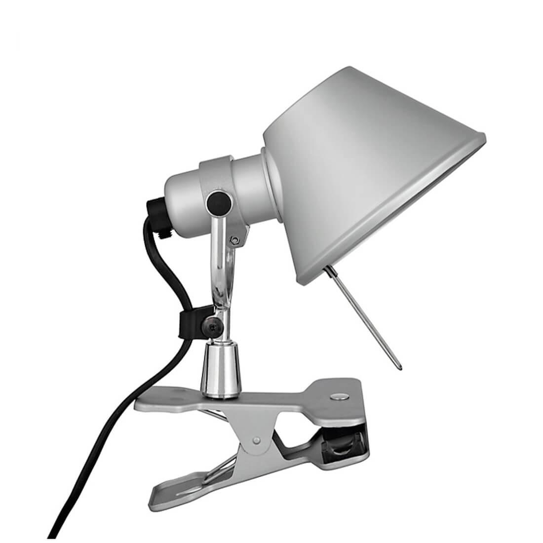 Tolomeo pinza halo artemide lampada da parete la luce - Lampada da tavolo con pinza ...