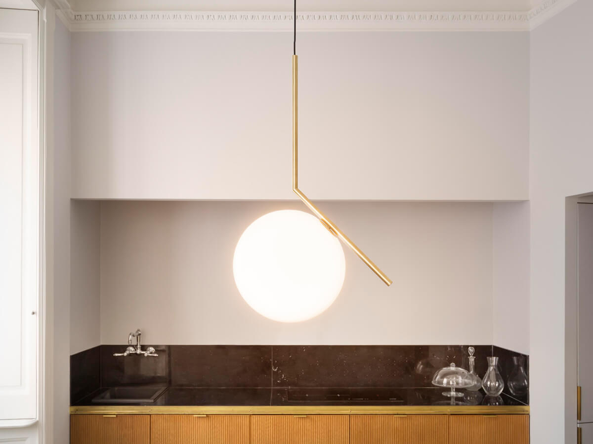 Plafoniere Flos : Ic lights s2 lampada a sospensione flos designer: anastassiades