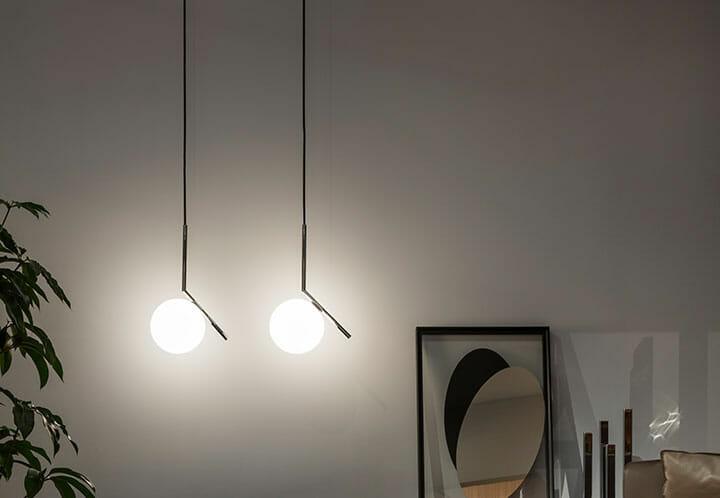 Flos Plafoniere : Ic lights s1 lampada a sospensione flos designer: anastassiades