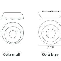 Oblix_Linea Light_dimensioni