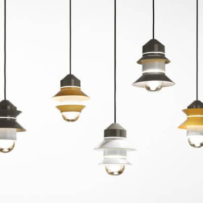Marset-Santorini-Pendant-Light-Grey-Mustard-and-White