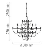 Flos-2097-30-Pendent-Light-Line-Drawing