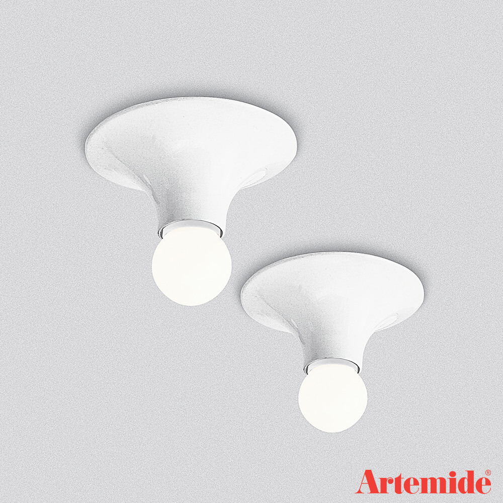 Teti wall and ceiling lamp by artmide designer vico magistretti teti artemide mozeypictures Gallery