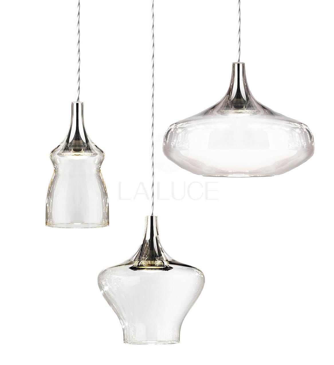Nostalgia 3 Lights Suspension Lamp By Studio Italia Design Led