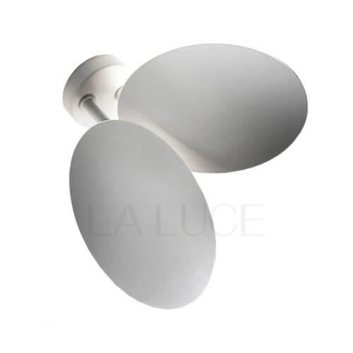 Puzzle Double Round Studio Italia Design-Bianco