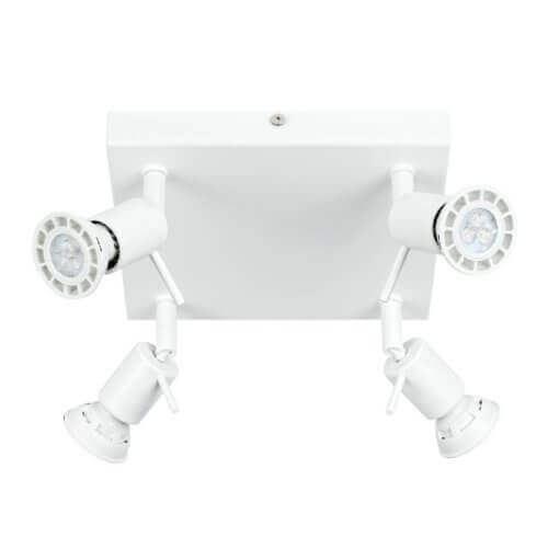 Spotty S quadrata-Linea-Light-Bianco