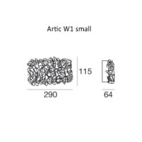 Artic W1_small_dimensioni