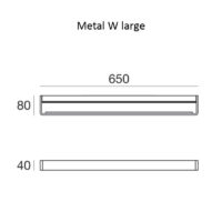 Metal W_large_dimensioni