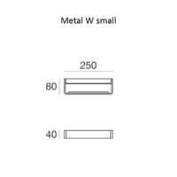 Metal W_small_dimensioni