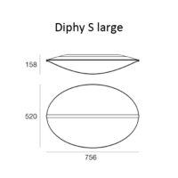 Diphy S_8167_LineaLight_dimensioni