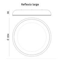 Reflexio_l_LineaLight_dimensioni