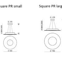 Square PR_LineaLight_dimensioni