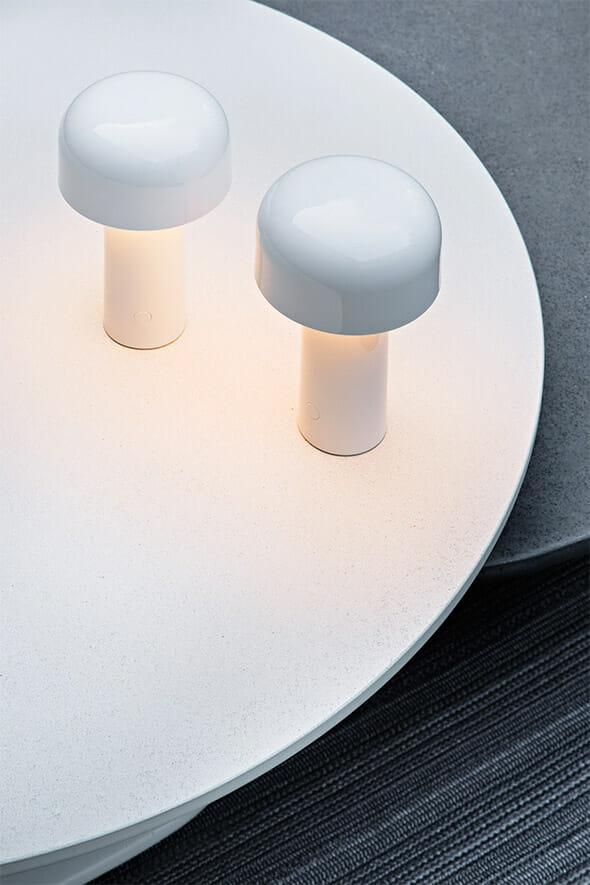 Bellhop Flos Rechargeable Table Lamp La Luce