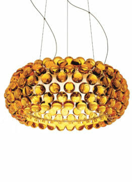 Caboche media_giallo oro_Foscarini