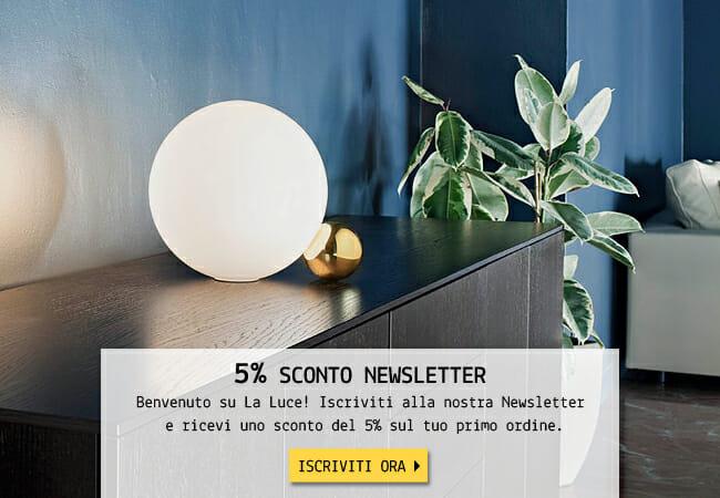 Sconto Newsletter 5%